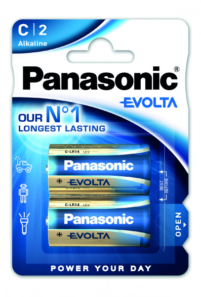 Panasonic Evolta (2x) LR14EGE/2BP
