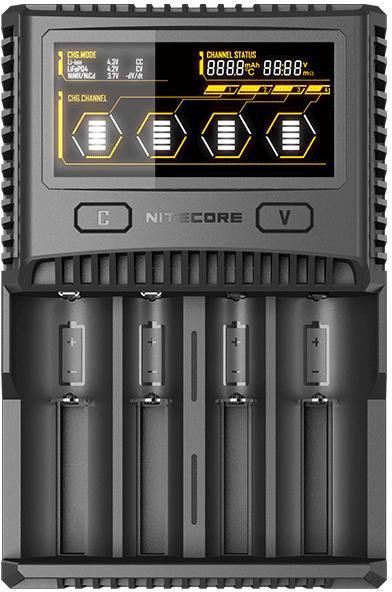 Nitecore Charger SC4 (4-Schacht Charger)
