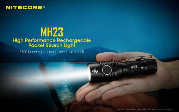 Nitecore LED-Taschenlampe MH23