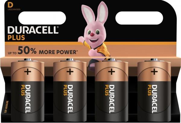Duracell Plus Power 4x LR20 (D/MN1300)