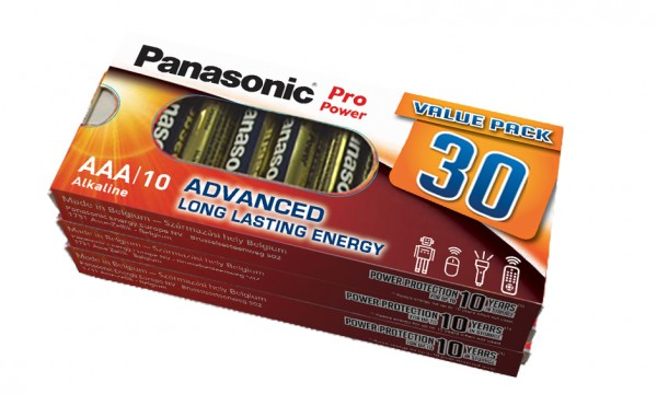 Panasonic Pro Power (30x) LR03PPG/30BB