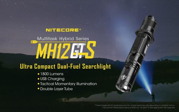 Nitecore LED-Taschenlampe MH12GTS