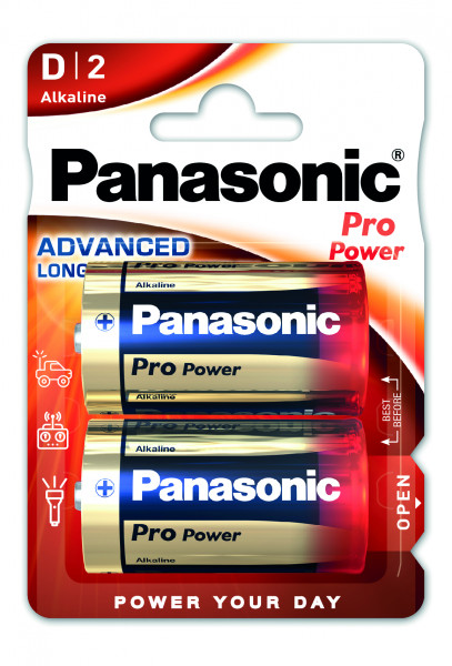 Panasonic Pro Power (2x) LR20PPG/2BP
