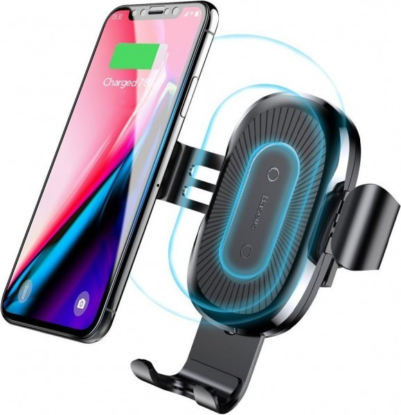 Baseus Qi Wireless Fast Charger Gravity (2 in 1)