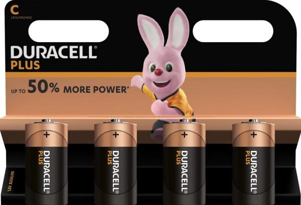 Duracell Plus Power 4x LR14 (C/MN1400)