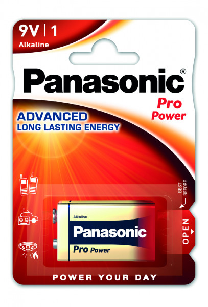 Panasonic Pro Power (1x) 6LF22PPG/1BP