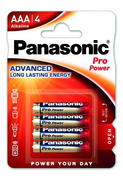Panasonic Pro Power (4x) LR03PPG/4BP