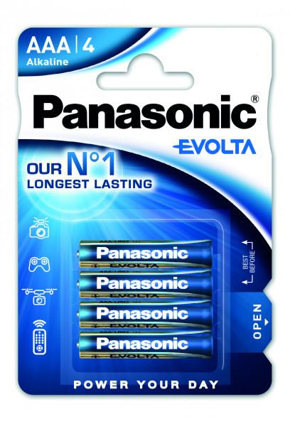 Panasonic Evolta (4x) LR03EGE/4BP