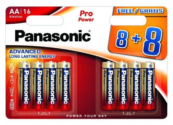PROMO Panasonic Pro Power 8+8 LR6 (AA)